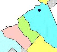 Mansfield Township map