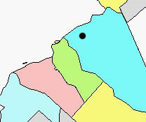 Moorestown map