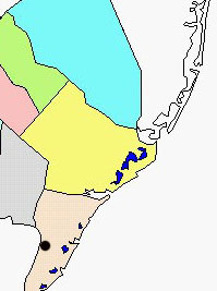 Cape May NWR map