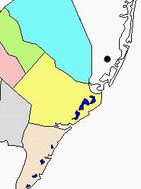 Manahawkin map