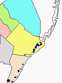North Cape May map