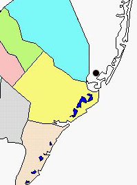 Tuckerton map