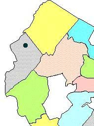 Blairstown map