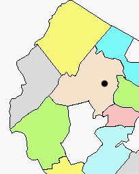 Parsippany map