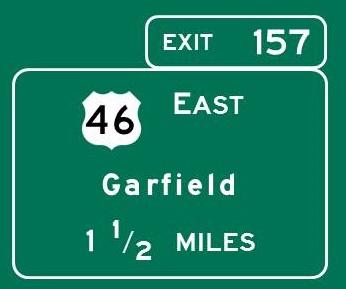 Navigating New Jersey Garden State Parkway Northbound
